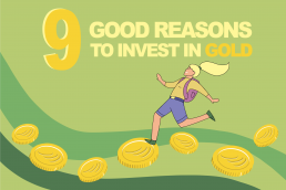 Good reasons to invest in gold