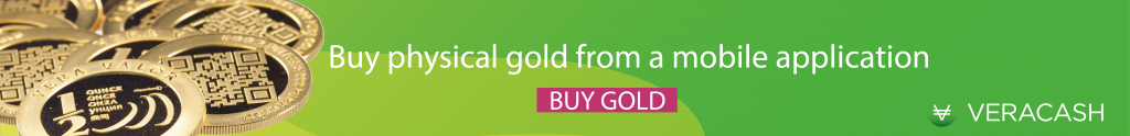 Buy physical gold VeraCash